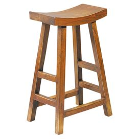 Lucy Barstool in Brown