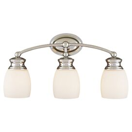 Edwina Vanity Light in Polished Chrome