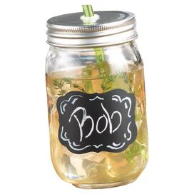 Percy Mason Drinking Jar (Set of 4)