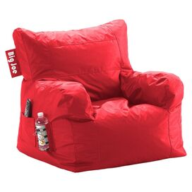Cranston Beanbag Lounger in Flaming Red