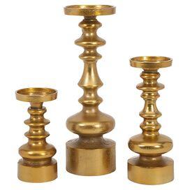3-Piece Karenza Candleholder Set