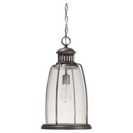 Royce Indoor/Outdoor Hanging Lantern in Graphite