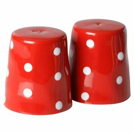 Sprinkle Salt & Pepper Shakers in Red