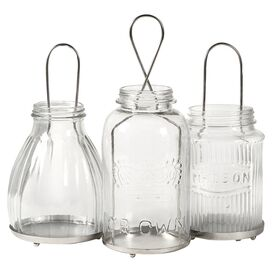 3-Piece Spangler Candle Lantern Set