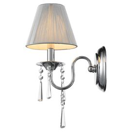 Natalie Wall Sconce in Silver