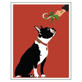 Boston Terrier Enclosure Card (Set of 12)
