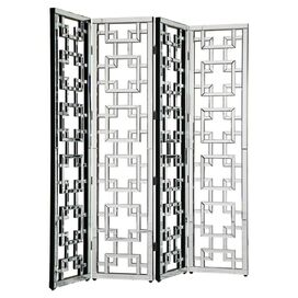 Sarita Mirrored Room Divider