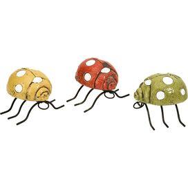 3-Piece Corrette Ladybug Decor