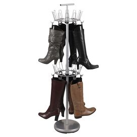 12-Pair Boot Tree in Silver