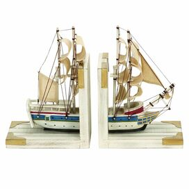 Schooner Bookends (Set of 2)