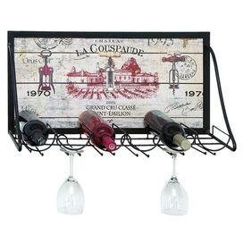 Chateau 6-Bottle Wine Rack