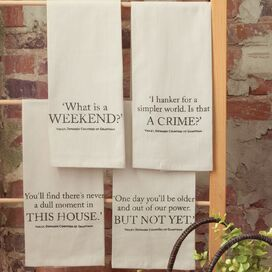 Downton Village Tea Towel (Set of 4)