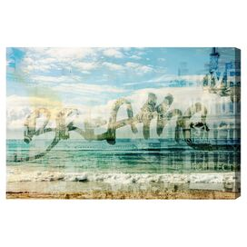 Breathe Canvas Print, Oliver Gal