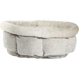 Arlington Pet Bed in Silver