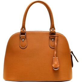Ragazza Leather Handbag in Tan
