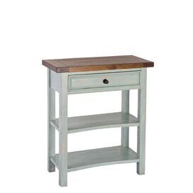 Tuscany Console Table in Aged Blue