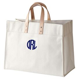 Personalized Tote in Natural