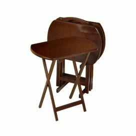 5-Piece Renata Tray Table Set