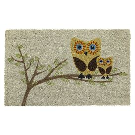 Sweet Home Give a Hoot Doormat