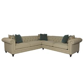 "Maya 136"" Sectional Sofa"