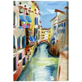 Venezia Canvas Print, Oliver Gal