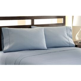 4 Piece 1200 TC Sheet Set with Damask Stripe