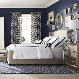 Baxter Sleigh Bed