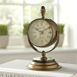 Heathrow Table Clock