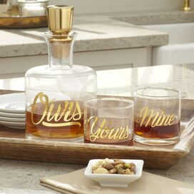 3-Piece Ours Decanter Set