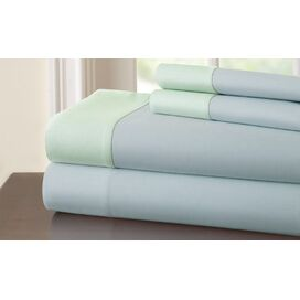 3 Piece 400 Thread Count 100% Cotton Sheet Set