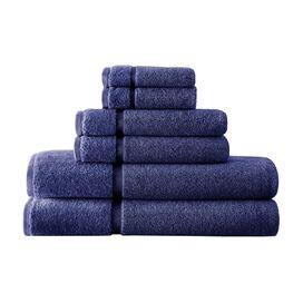 6-Piece Egyptian Cotton Towel Set in White
