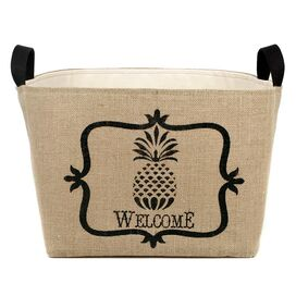 Pineapple Welcome Bin