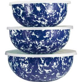 3-Piece Malin Mixing Bowl Set in Butter Yellow