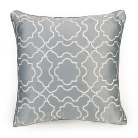 Bianca Trellis Time Decorative Throw Pillow