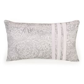 Ethereal Pleats Textural Relief Decorative Lumbar Pillow