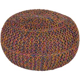 Wisteria Pouf in Teal