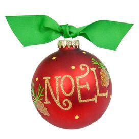 Noel Pinecone Ornament