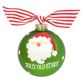 Jolly Old St. Nick Ornament