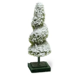 Faux Evergreen Spiral Topiary