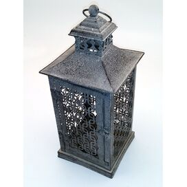 Zinc Garden Gate Outdoor Hanging Lantern