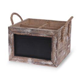 Wine Carrier Chalkboard Box