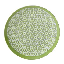 "Rose Garden 10.5"" Melamine Dinner Plate"