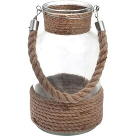 Rope Handle Outdoor Hanging Lantern/Pendant