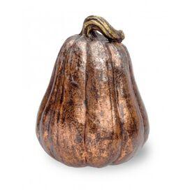 Faux Aged Copper Gourd