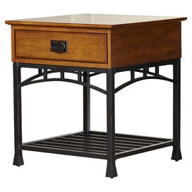 Modern Craftsman End Table