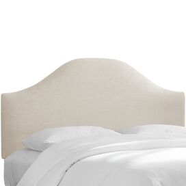 Alexis Upholstered Headboard in Talc