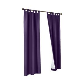 Insulated Tab Top Curtain Panel (Set of 2)