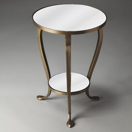 Cassandra Mirrored Accent Table