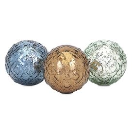 Katrina Glass Sphere Set (Set of 3)
