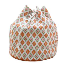 Geometric Laundry Bag